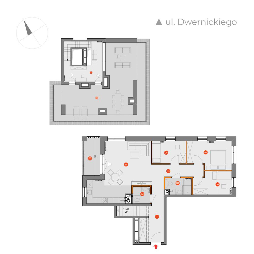 Mieszkanie 4-pokojowe PP-26-24