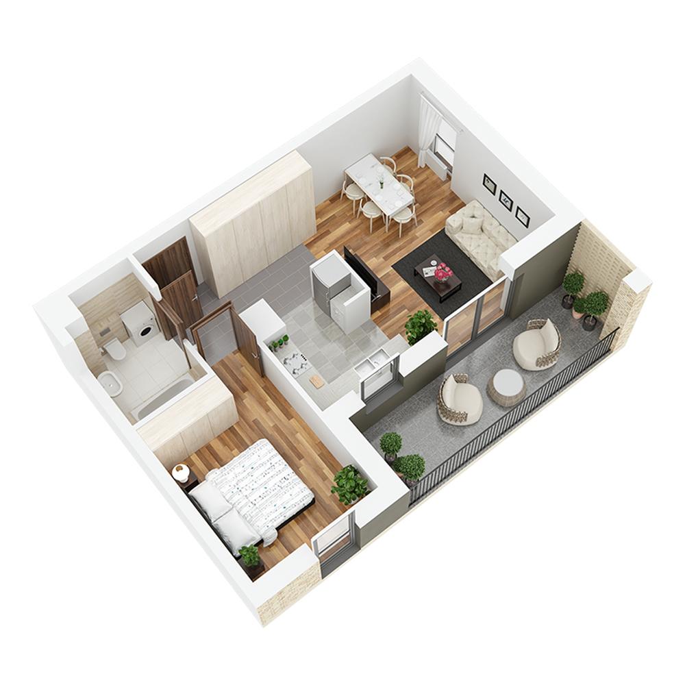 Mieszkanie 2-pokojowe PP-24-14