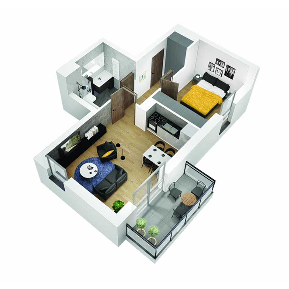 Mieszkanie 2-pokojowe OU-4-15