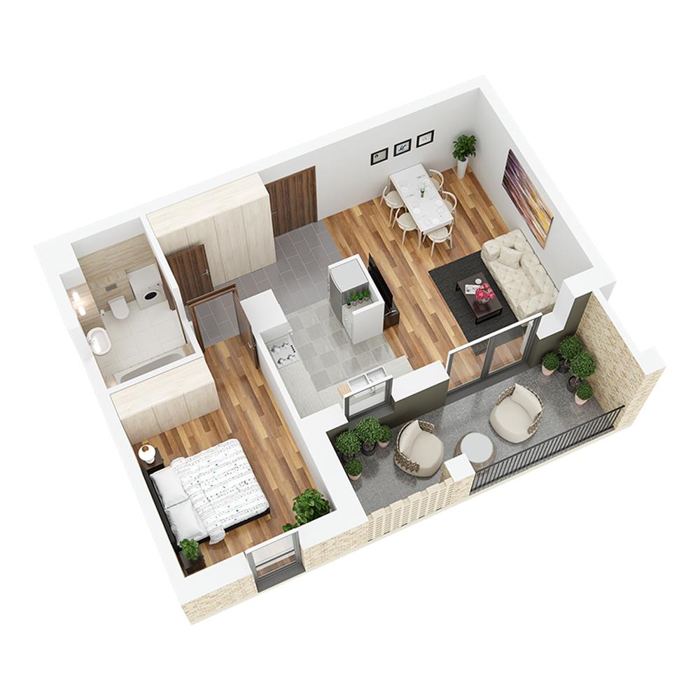 Mieszkanie 2-pokojowe PP-26-47