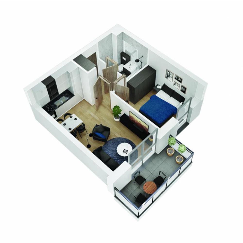 Mieszkanie 2-pokojowe OU-5-10