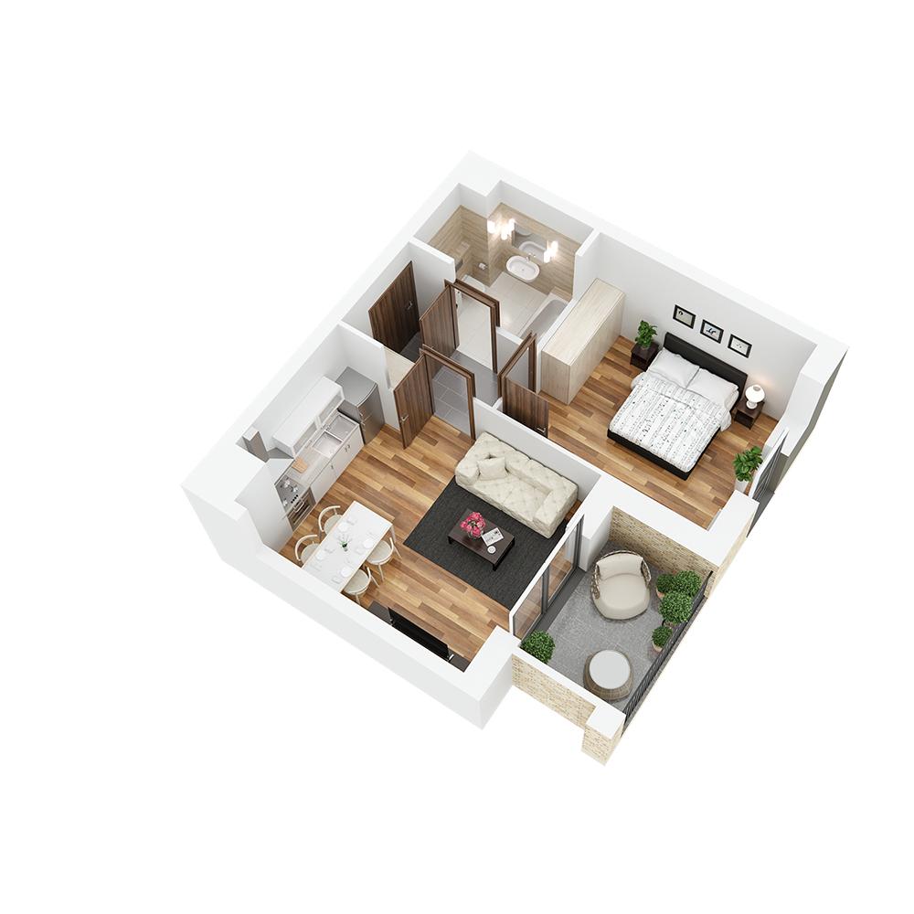 Mieszkanie 2-pokojowe PP-26-5