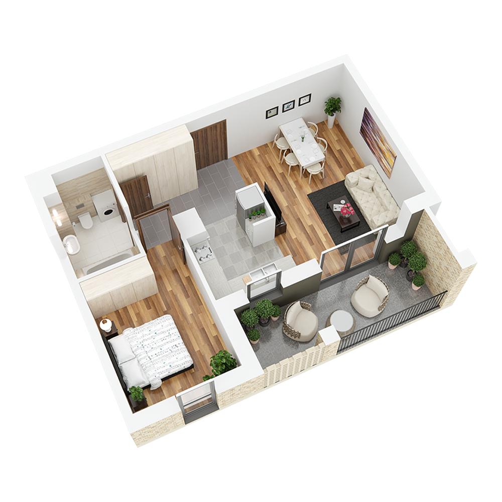 Mieszkanie 2-pokojowe PP-26-35