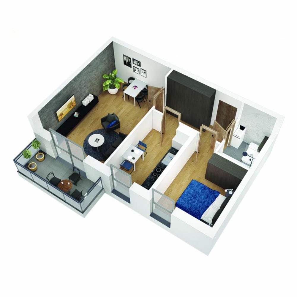 Mieszkanie 2-pokojowe OU-5-11