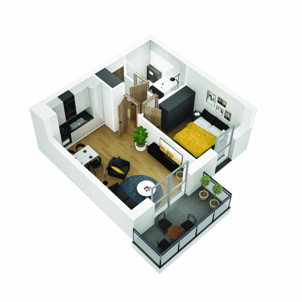 Mieszkanie 2-pokojowe OU-4-9
