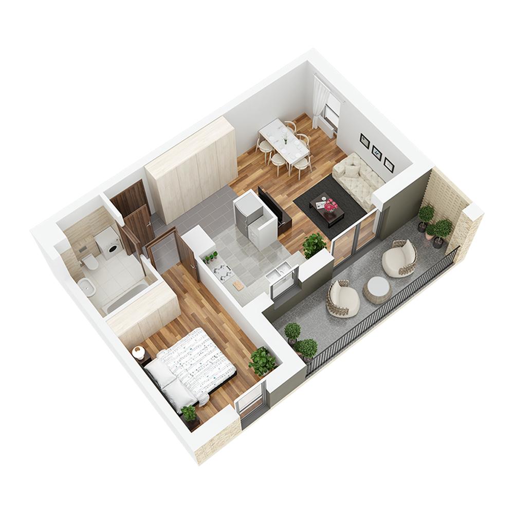 Mieszkanie 2-pokojowe PP-24-34